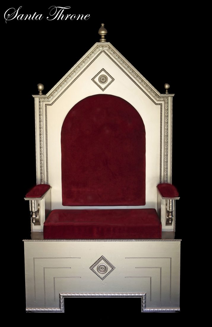 9 Santa Throne-Designer Christmas